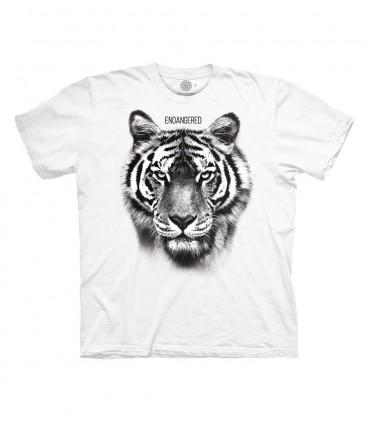 Tee-shirt Tigre en danger The Mountain