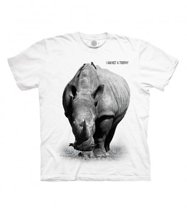 The Mountain Rhino Not a Trophy T Shirt