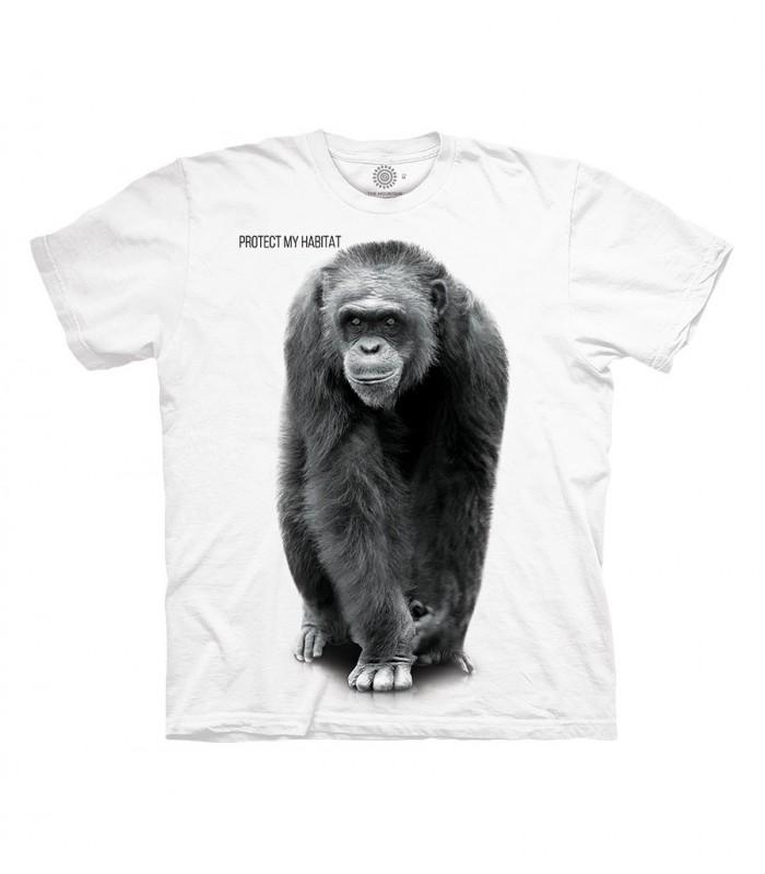 The Mountain Chimp Protect My Habitat T Shirt