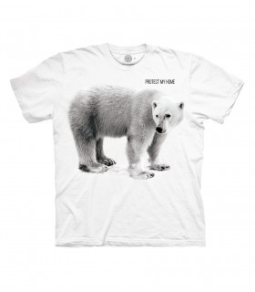 The Mountain Polar Bear Protect My Home T Shirt