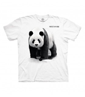 The Mountain Panda White T Shirt