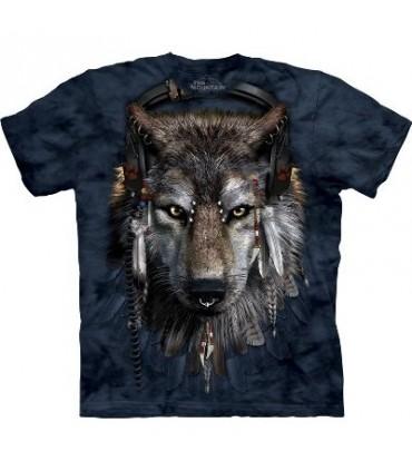 DJ Fen - T-Shirt Manimal par The Mountain