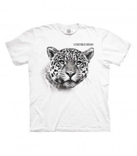 The Mountain Leopard Extinction White T Shirt