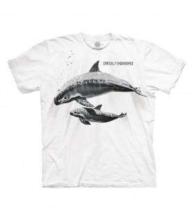 Tee-shirt baleine The Mountain