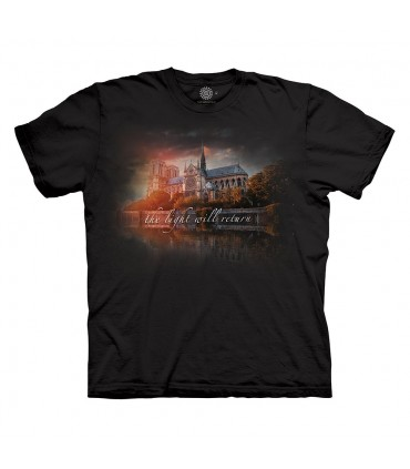 The Mountain Notre Dame Tribute T Shirt