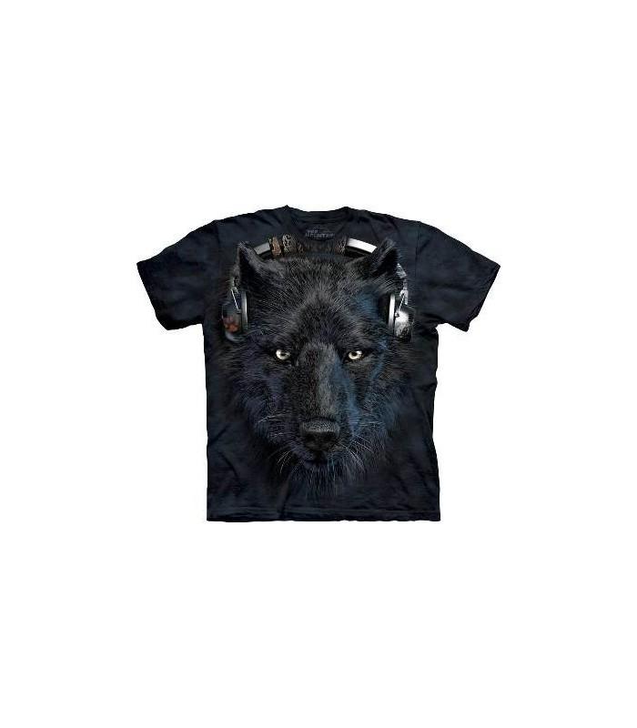 DJ Night - Wolf T Shirt by the Mountain