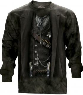 Tee-shirt manches longues motif Shérif