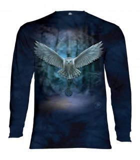 Tee-shirt manches longues motif Réveillez votre magie