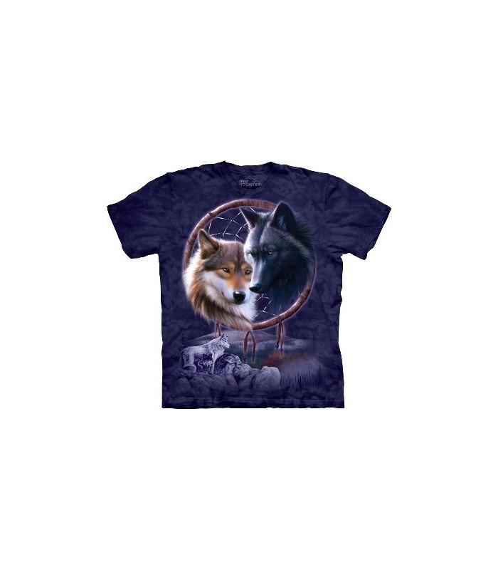 T-Shirt Capteur de rêves loups par The Mountain