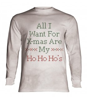 Tee-shirt manches longues motif Noël