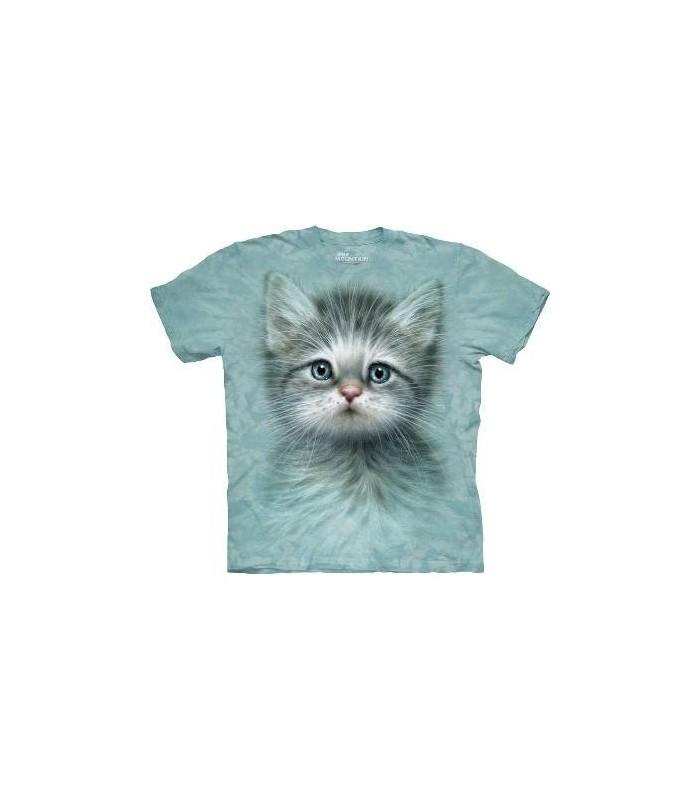 T-Shirt Chaton aux Yeux Bleus The Mountain