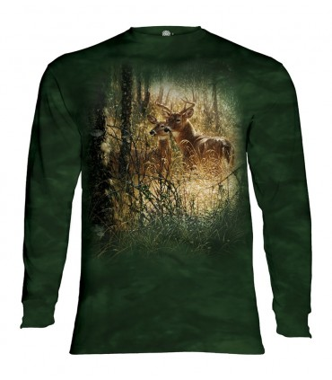 Longsleeve T-Shirt with Golden Moment design