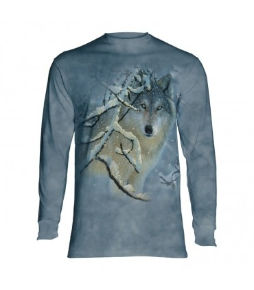 Longsleeve T-Shirt with Wolf design