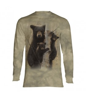 Longsleeve T-Shirt with Bear design