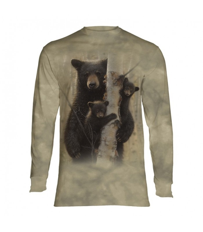 Tee-shirt manches longues motif Ours