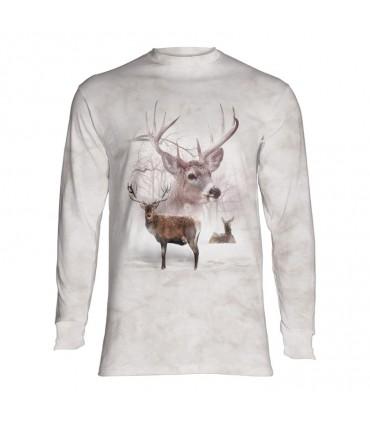 Longsleeve T-Shirt with Deer design
