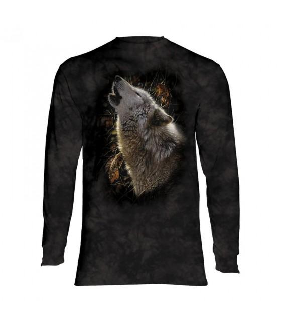 La montagne Unisexe Adulte aventure Loup Loups hoodie