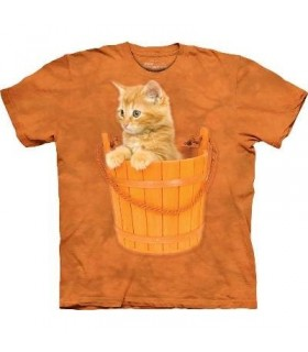 T-Shirt Chaton dans le Sceau par The Mountain