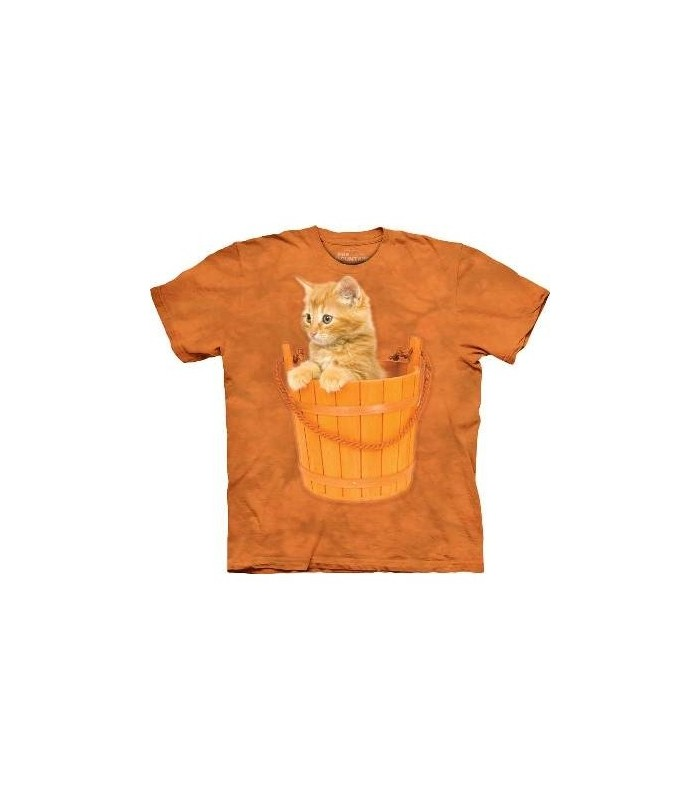 Bucket Kitten - Pets T Shirt by the Mountain