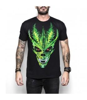 Cool Skullz T-shirt unisexe adulte Alien
