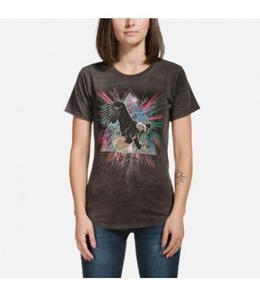 The Mountain Eagle Dimension Womens Tri-Blend Bird T Shirt