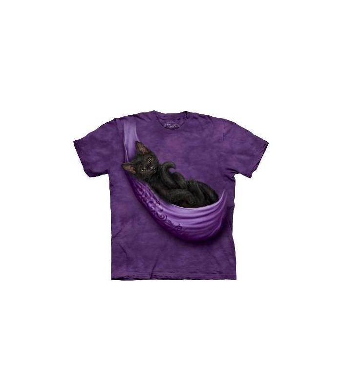 T-Shirt Chaton dans son Berceau par The Mountain