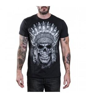 Tee-shirt Crâne Amérindien