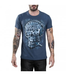 Hardcore DJ Skull T-shirt