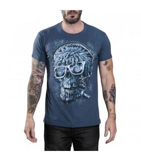 Tee-shirt Crâne DJ Skull