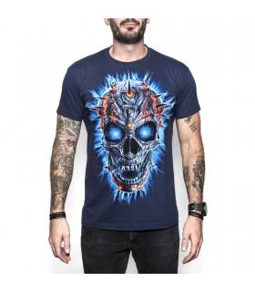 Tee-shirt Crâne Terminator
