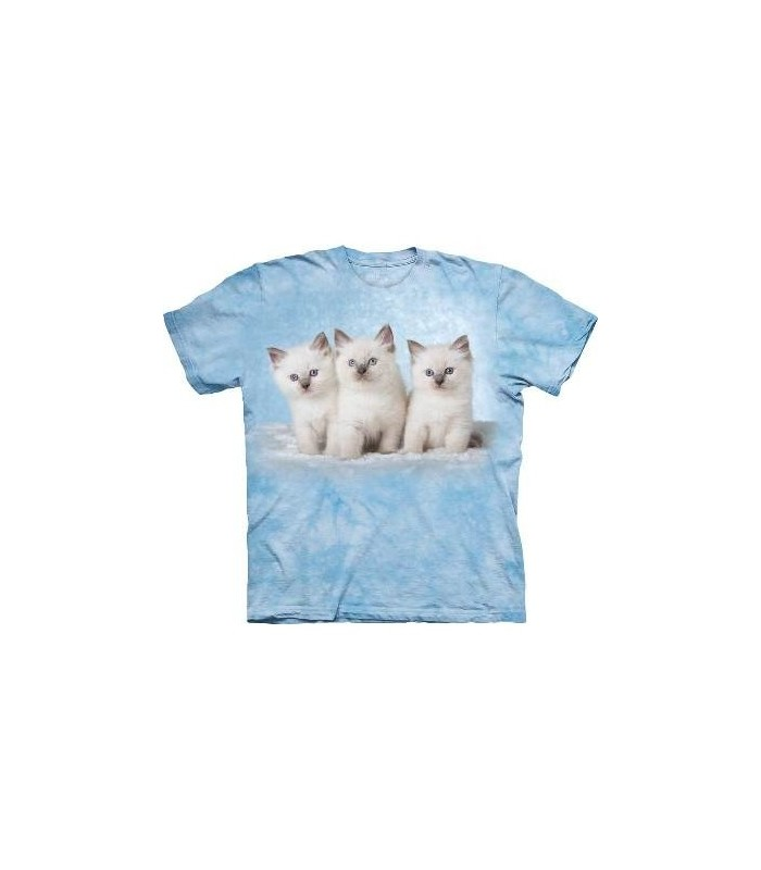 Cloud Kittens - Pets T Shirt by the Mountain