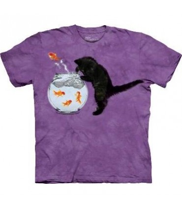 T-Shirt Chaton Pêcheur par The Mountain