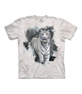 Tee-shirt Tigre Blanc The Mountain