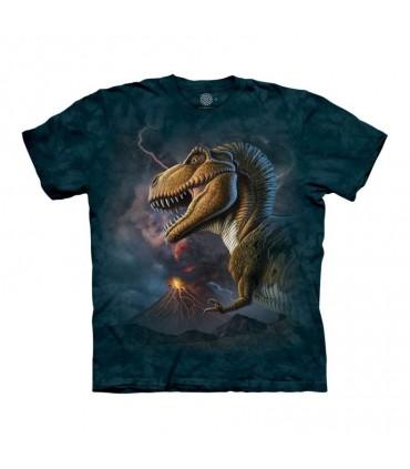 Tee-shirt T-Rex et Volcan The Mountain