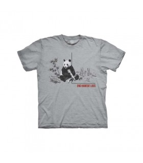 Tee-shirt Panda The Mountain