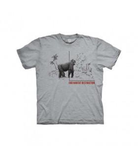 Tee-shirt Habitat du Gorille The Mountain
