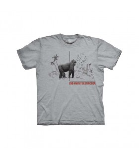 The Mountain Habitat Gorilla T-Shirt
