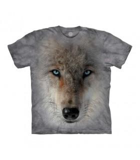 Tee-shirt Tête de Loup The Mountain