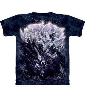 T-Shirt La Guerre des anges par The Mountain
