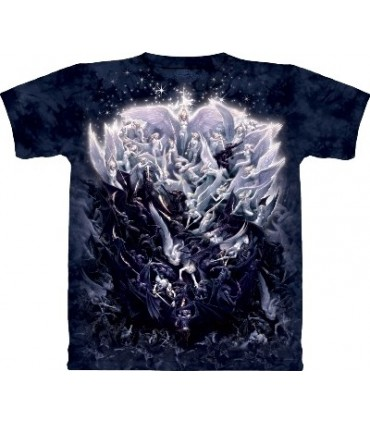 T-Shirt La Guerre des anges par The Mountain