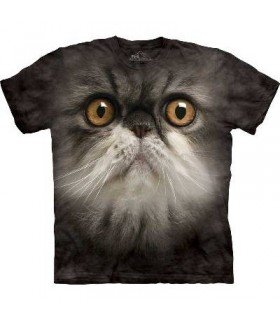 Furry Face - Cats T Shirt from The Mountain