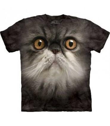 T-Shirt Visage Velu par The Mountain