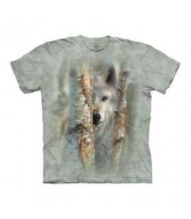 Tee-shirt Loup The Mountain