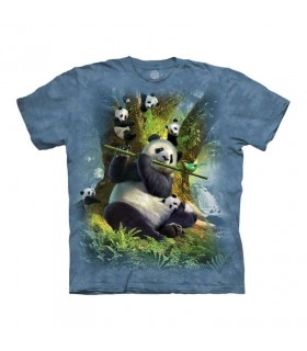 Tee-shirt Panda The Mountain