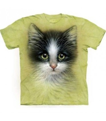 T-Shirt Chaton aux yeux verts par The Mountain