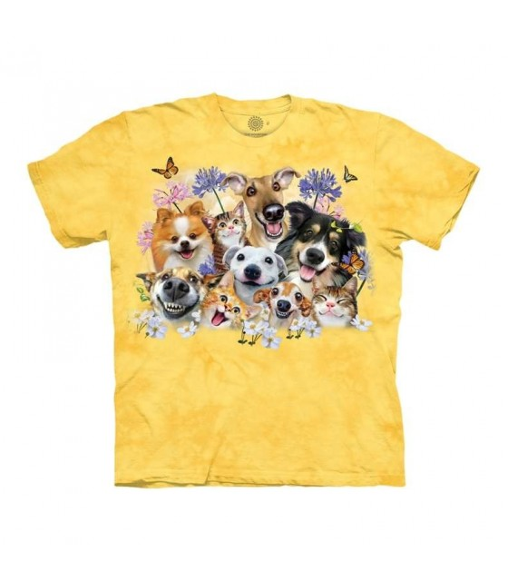 "LAB /""GOLDEN PUPPY/"" CHILD T-SHIRT THE MOUNTAIN"