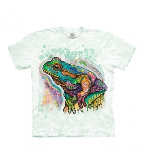 The Mountain Psychadelic Frog T-Shirt