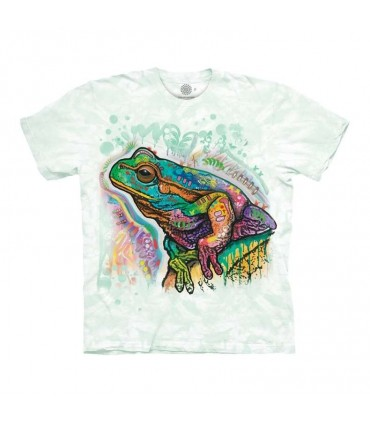 The Mountain Psychadelic Frog T-Shirt