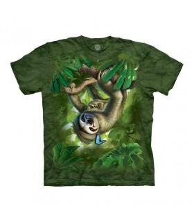 The Mountain Sloth Mama T-Shirt