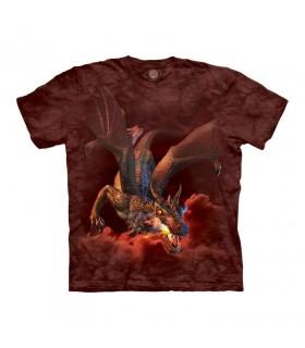 Tee-shirt Dragon cracheur de feu The Mountain